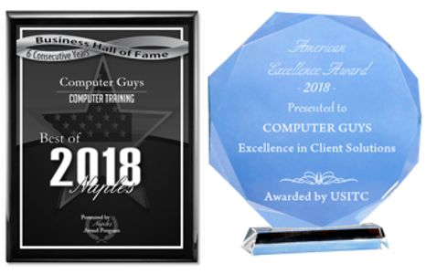 Computer Guys of Naples Awards computer repair Naples computer help Naples (239)398-3427