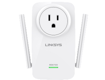 Linksys RE6700 and Linksys AC1200 Wifi Extender