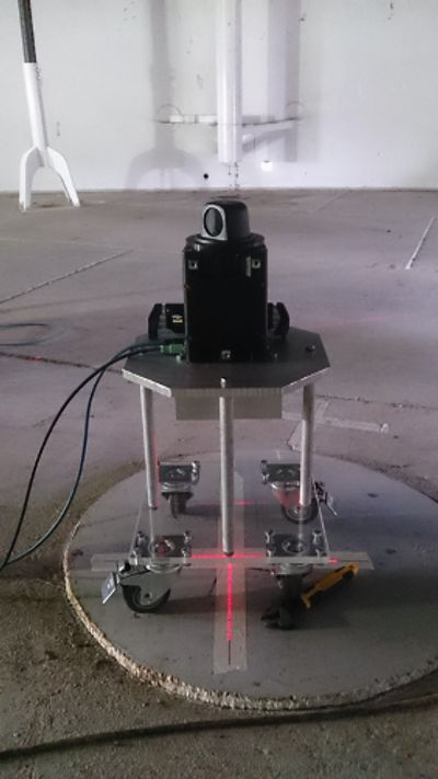 Prototype for localization in an aboveground storage tank