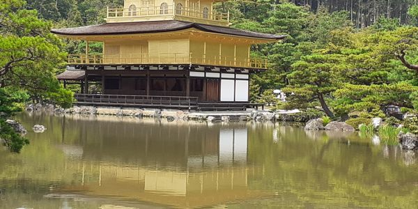 Kinkakuji temple  Kyoto Cultural capital of Japan