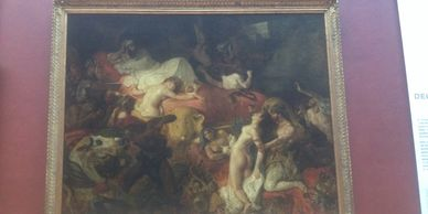 Delacroix Passion The Death of Sardanapalus