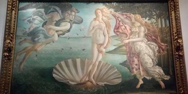 The Birth of Venus Uffizi Gallery  Florence Italy Sandro Botticelli