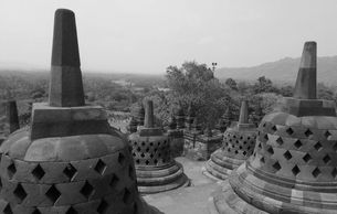 Borobudur Temple Largest Buddhist temple in the world Indonesia