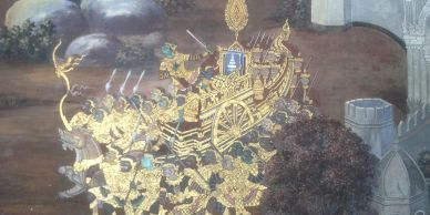 Temple art in Thailand Ramayana Ramkein Versions of Ramayana South East Asia