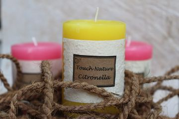 Touch Nature Pillar Candles