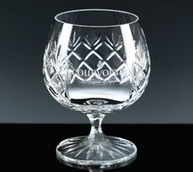 crystal brandy glass personalised engraved gifts in tidworth