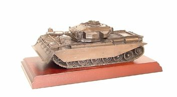 Royal Engineers Centurion AVRE Bronze presentation, british army gifts military gifts