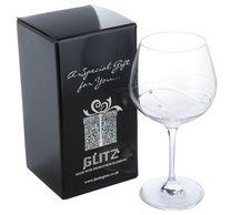 Gin Glass engravavble engraving reads gifts tidworth