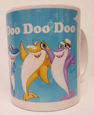 mummy shark presents for kids, ideal stocking filler or birthday gift , tidworth, reads gifts