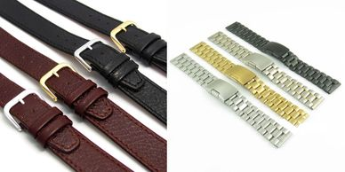 replacement watch straps, leather straps, nato watch straps, casio watch straps tidworth reads