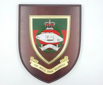 Royal_tank_regiment_wooden_shield_plaque_military_plaque_engraved_tidworth_reads_gifts_and_services