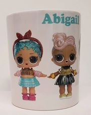 lol dolls mug, lol dolls personalised gift tidworth, reads gifts and services