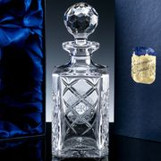 crystal whisky decanter engraved or personalised tidworth reads gifts and services