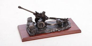105 light gun model royal artillery gifts military gifts in tidworth british army