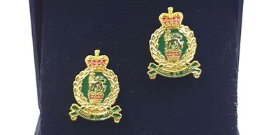 kings_Royal_hussars_cufflinks_tie_slides_military_cufflinks_tidworth_reads_gifts_and_services_tidw