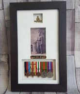 bespoke medal framing service available in tidworth