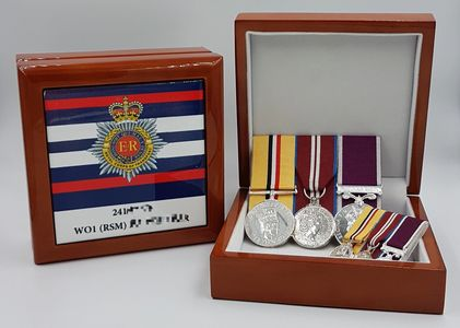 Medal boxes, military, keepsake, boxes, personalised medal box, tidworth, station_road, engravers,