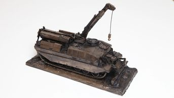 CRARRV recovery vehicle bronze presentation gift military engraved british army tidworth