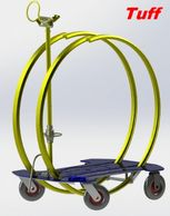 Tuff Industries Lock Ring Trolley. #safetymits