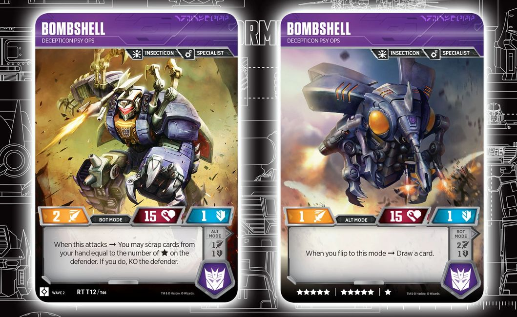Bombshell Rise of the Combiners