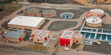 Water Pollution Control Plant - City of Yorkton