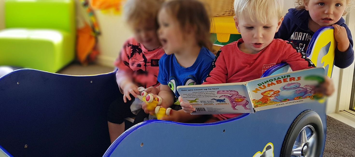 Children's Development and Education at Riverton Childcare. We also use Educa, for online profiles.
