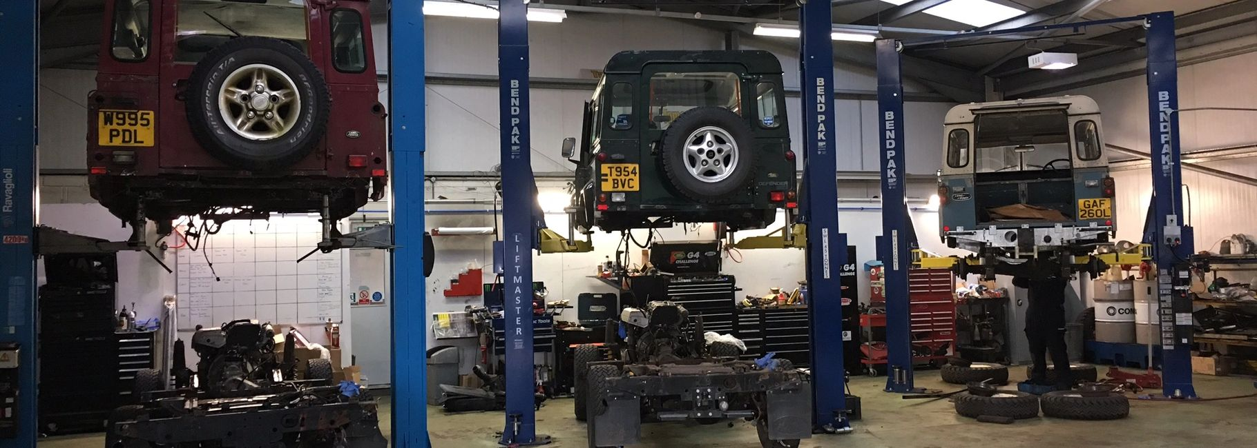 Land Rover Service and Repair Galvernised Chassis Replacement