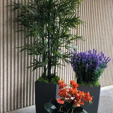 replica plants artificial plants bamboo plants