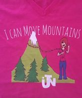 I Can Move Mountains in Jesus Name T-Shirt