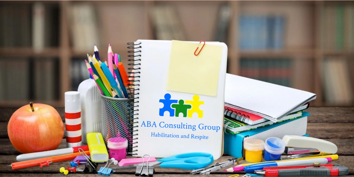 Learning material used for ABA skill building.