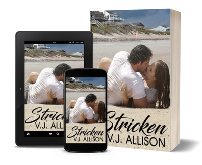 Stricken is available in e-book format and POD paperback (Amazon only).