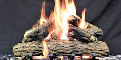 High quality ceramic fire log sets made to look like real wood fire logs for fire table fire pit