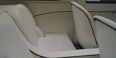 Auto interior upholstery, seating, door panels, middle console