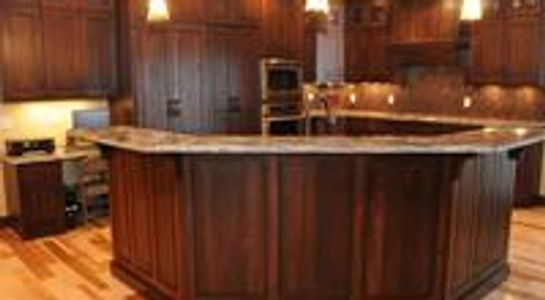 Stained Cabinets Sioux Falls