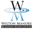 Wilton manor business association logo for Wilton Manors business association members.