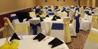 Table & Chair Decorations for Parties in Blue Bell PA