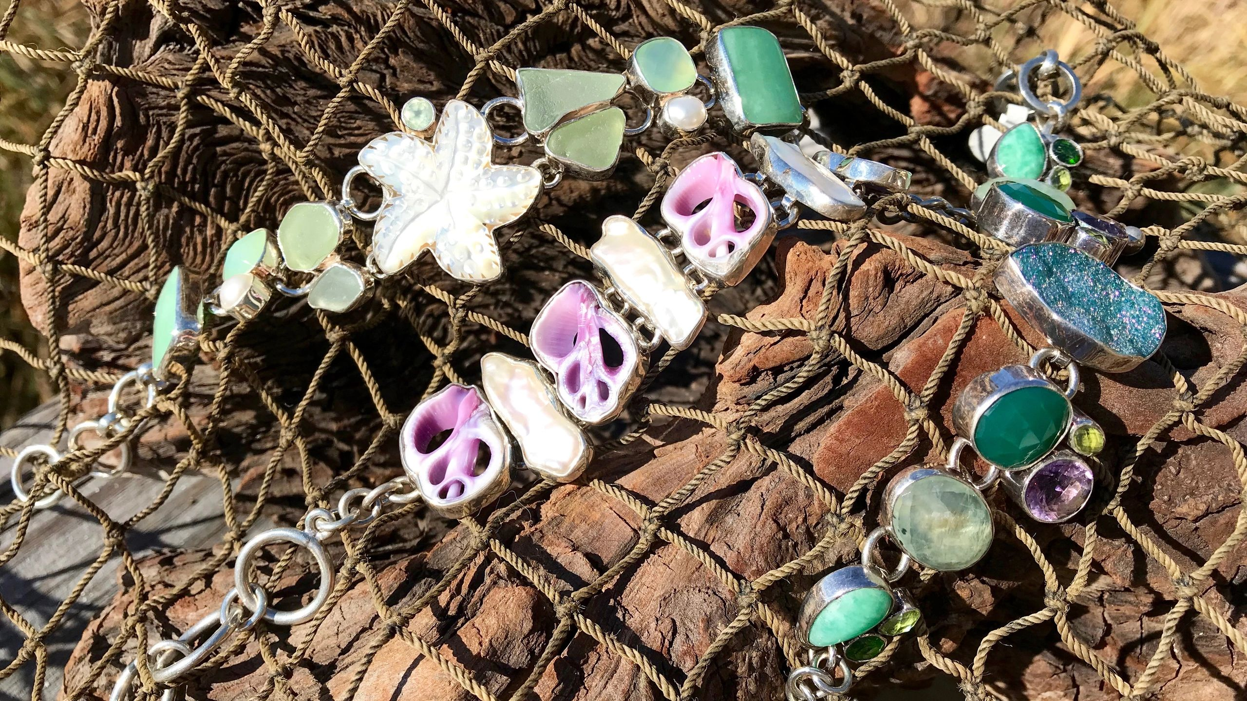 Beach Treasures in Duck |  Gemstone Jewelry and Outer Banks Gifts