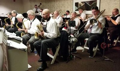 Akron Big Band in action