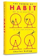 Book the Power of Habit. Yellow