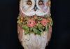 The Great Adorned Owl (2018) Fiberglass, epoxy resin and acrylic paint, What a Hoot, Coxsackie NY
