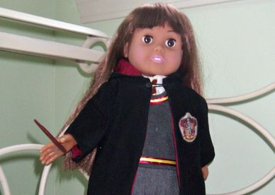 Hogwarts Uniform for American Girl Dolls, Hermoine Granger Costume, Doll Costume Pattern