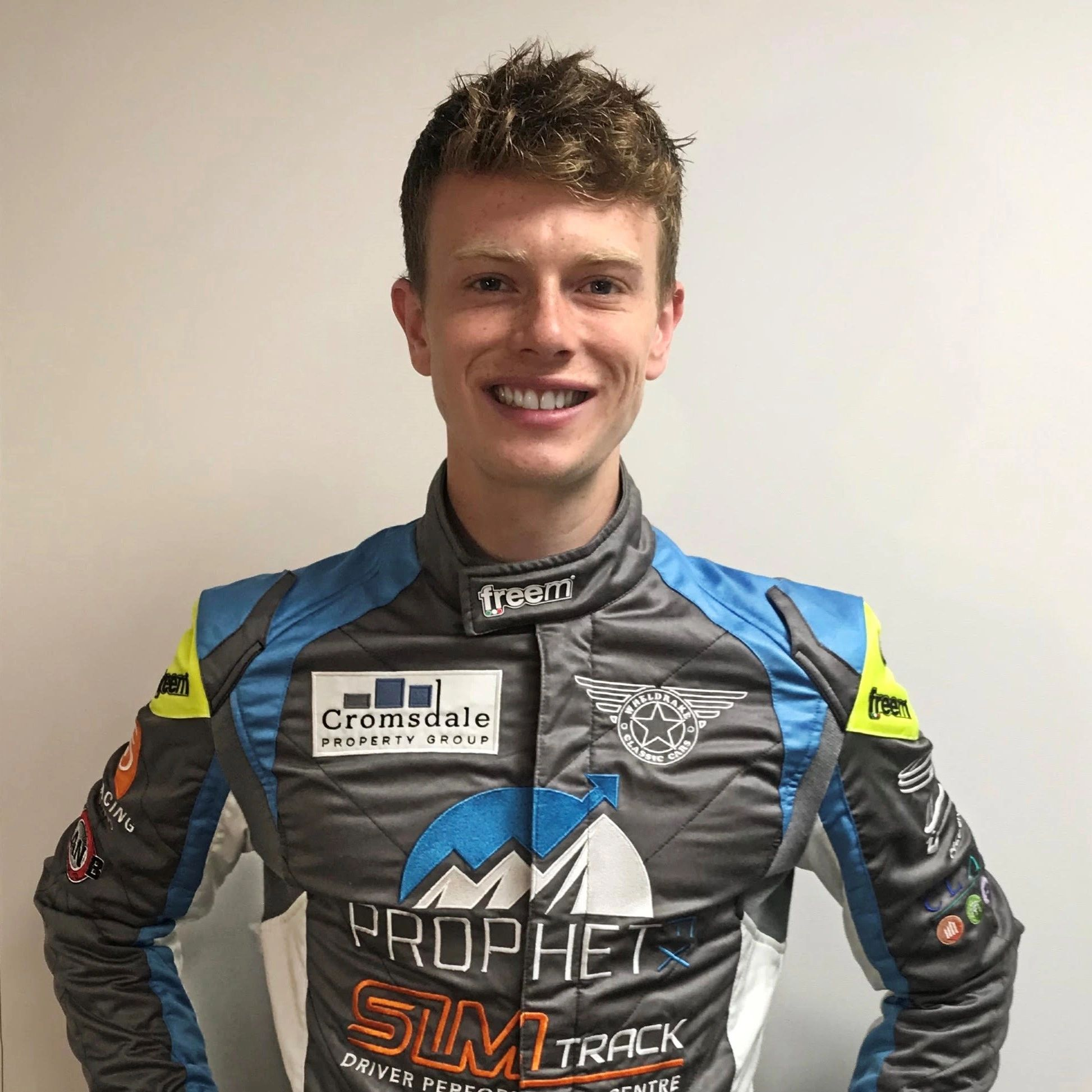 Photo of James Kellett racing driver of car 23