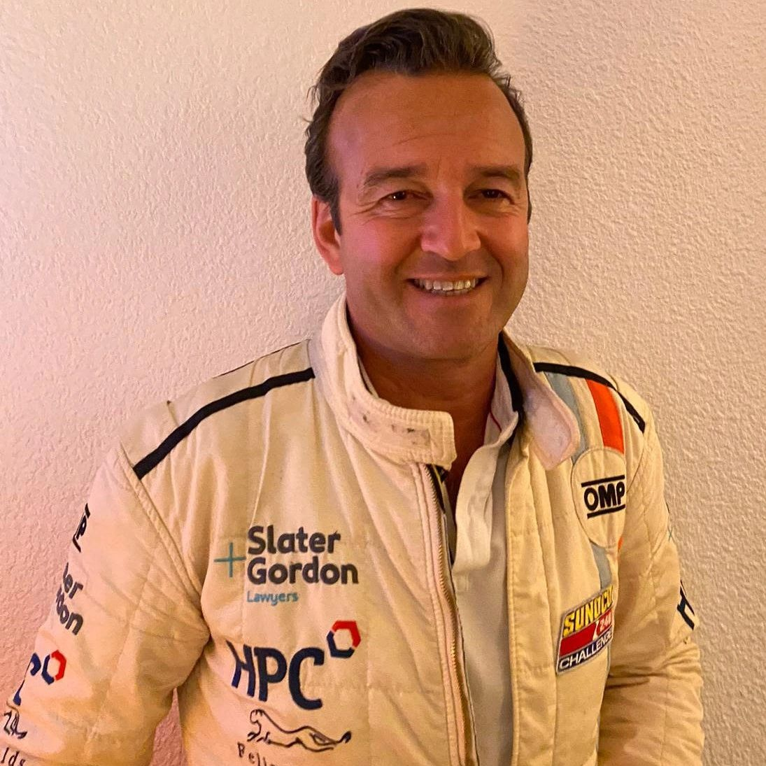 Photo of Raphael Del Sarte in his race wear as part of car 24