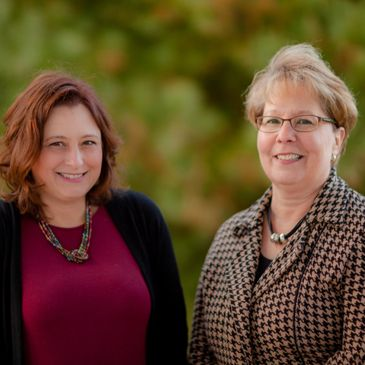 Gina Niebrugge and Debra Lassman, owners of Office Productivity Training, LLC