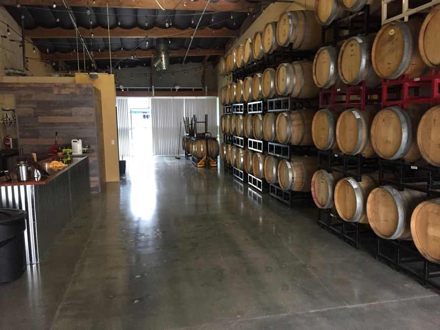 Frisby Wine Cellars Lake Forest California