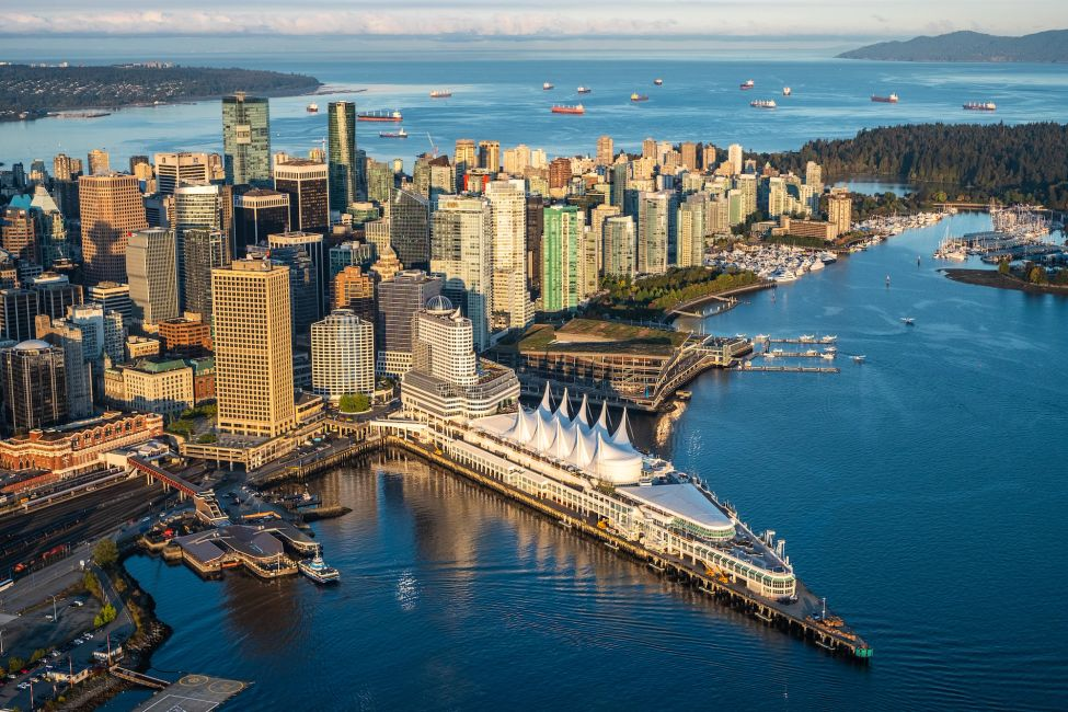 "Conference location is ""under the sails"" at the Vancouver Convention Centre (East),"