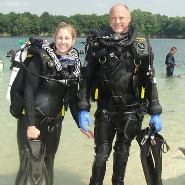 Crystal Blue Diving Lake In The Hills Scuba instructors, classes, scuba gear, dive trips