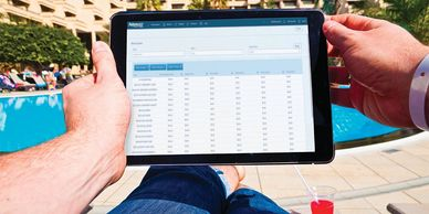 Manage your pos system from anywhere via the cloud