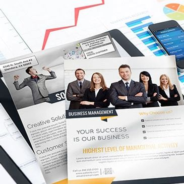 print flyers brochures menus envelopes letterhead postcards business cards forms mail bulk mail EDDM