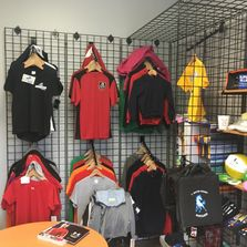 screen print embroidery apparel pens spirit wear wearables t-shirts polos athletics team uniforms